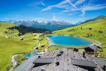 Erholungsgebiet Komperdell bei Serfaus, Tirol