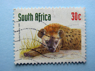 South Africa stamp 1998 - Spotted Hyena