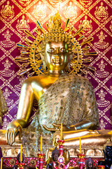 The golden buddha at Thailand.