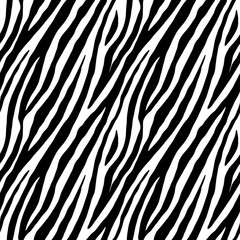 Zebra repeated seamless pattern