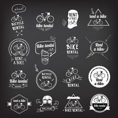 Bike rental, design concept.