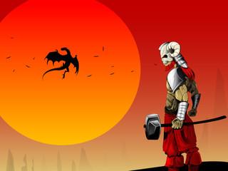 Ancient warrior image