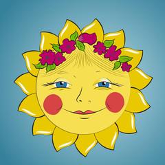 Fabulous sun girl