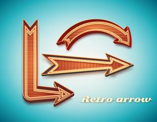 vector illustration of Retro vintage sign