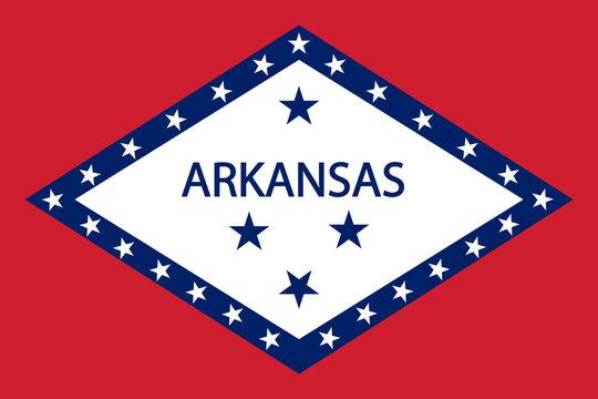 Arkansas Flag.