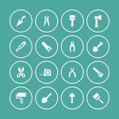 tool build repair icon set