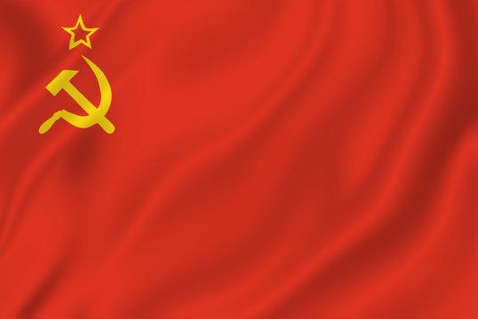 USSR Soviet Flag