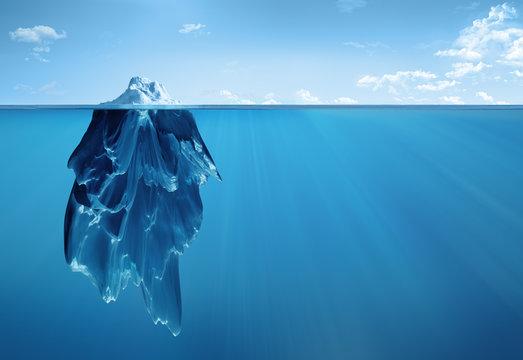 iceberg underwater