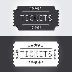 Ticket to old vintage style