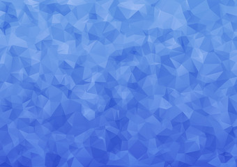 Blue abstract geometric  polygon low poly  vector illustration ,