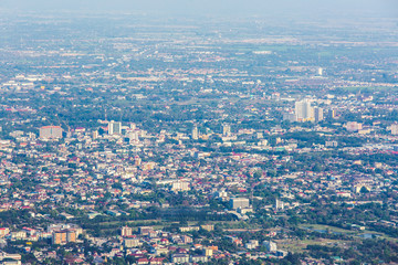 city view of chiangmai province Thailand
