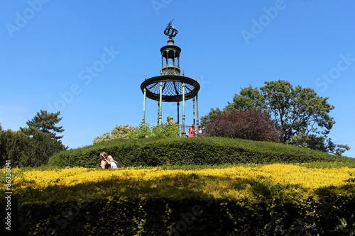 Paris / Jardin des plantes - Le labyrinthe (La gloriette de Buffon ...