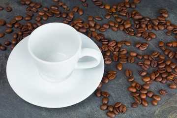 Cup on Slate