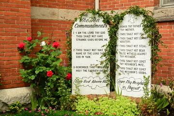 Gods Laws,The Ten Commandments.