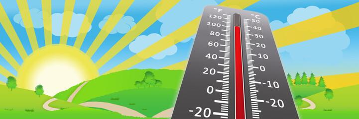 lsb1 LandScapeBanner lsb - heat wave - climate change - landscape banner - 3to1 g3661