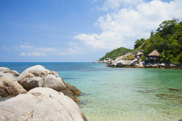 Tropical Island at Summer Season