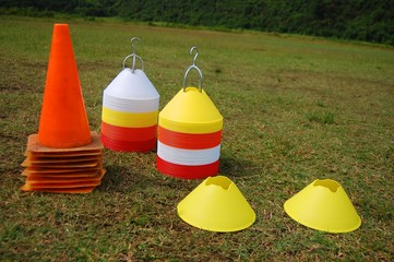 Soccer cone markers image