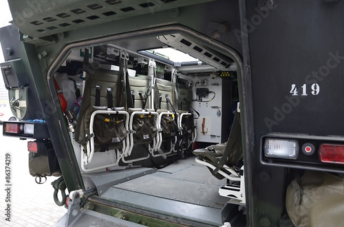 interior of armored vehicle pandur czech army stock photo and royalty free images on fotolia. Black Bedroom Furniture Sets. Home Design Ideas