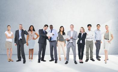 Corporate Business Team Communication Connection Concept