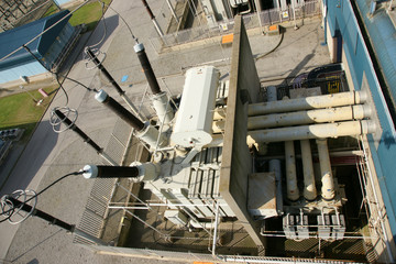 electrical infrastructure sub station transformer