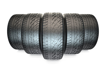 Group of automotive tyres