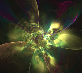Fractal Light Forms 454