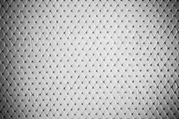 Luxury white leather texture for background