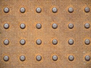 Steel Dot Pattern