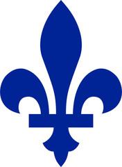 The fleur-de-lis of Quebec