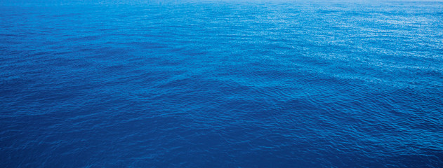 Poster Mer / Ocean blue water sea for background