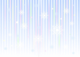 Striped colored mesh gradient background from snowflakes stars