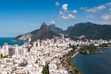 Ipanema and Leblon, Mountains in the Horizon, Rio de Janeiro