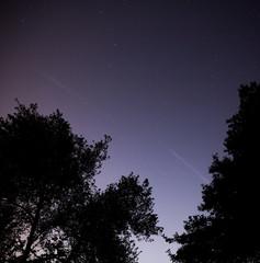 Sternenhimmel auf dem Lande