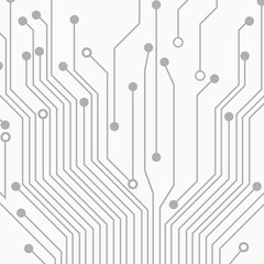 Abstract grey technology background