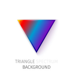 triangle spectrum background