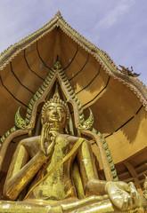 Buddha statue, Wat Tham Sua, Kanchanaburi, Thailand