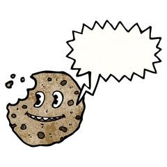 talking cookie cartoon