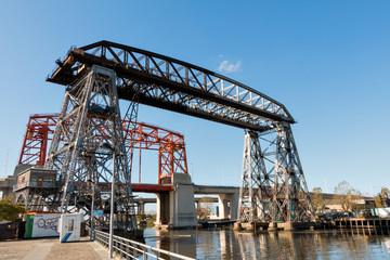 Puente Transbordador, La Boca Buenos Aires Argentina