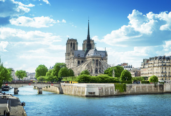 Foto auf Gartenposter Paris Notre Dame de Paris, France