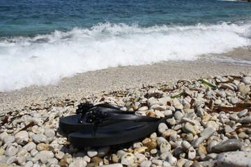 Summer on the beach, isola d'elba, tuscany, capo bianco beach