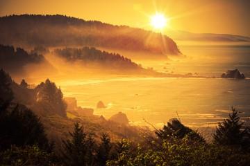 Wall Mural - California Coastal Sunset