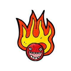 flaming emoticon face symbol