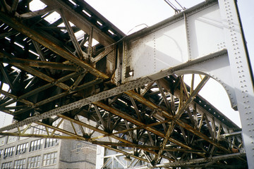 under Chicago's rusted El -- 1994