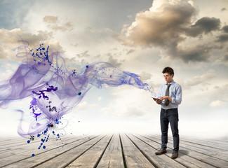 Future, technology, environment, concept