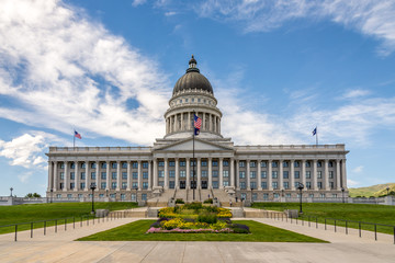 Building of Capitol in the Salt Lake City