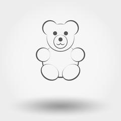 Bear toy.