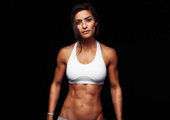 Fitness woman wearing sport bra