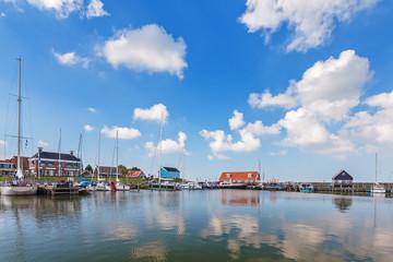 The Dutch harbor of Hindeloopen