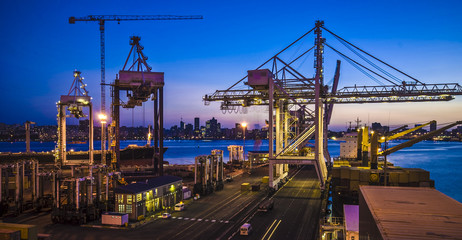 Port of Durban, South Africa.  Fototapete