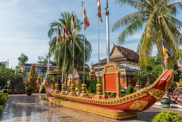 Wat Preah Ang, Siem Reap, Cambodia